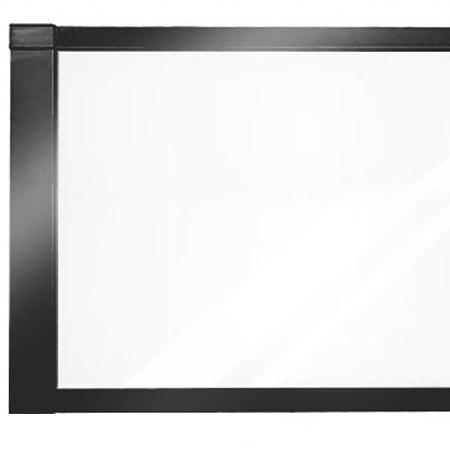 Glassrekkverk og glassgjerde design Sonate-en-sort-2